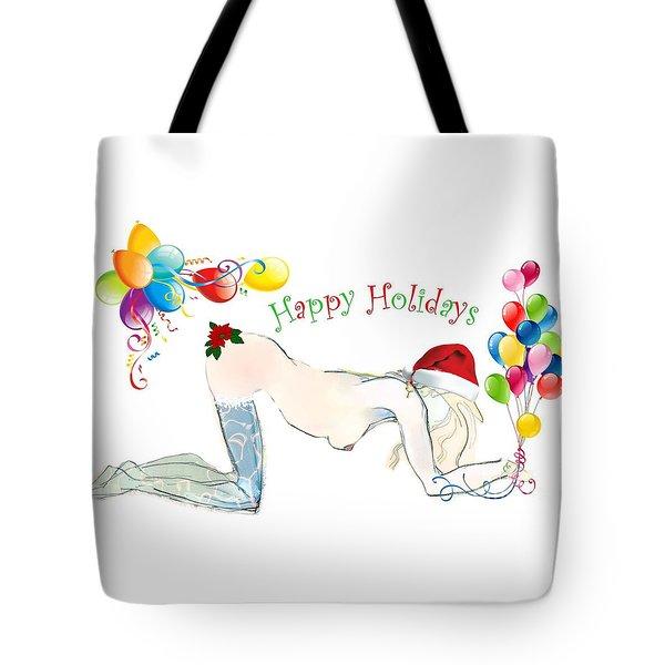 Santa Baby - Holiday Cards Tote Bag