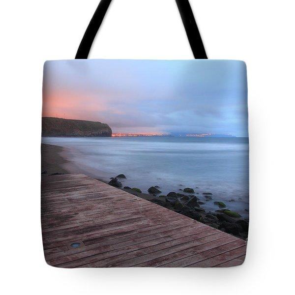 Santa Barbara Beach Tote Bag by Gaspar Avila