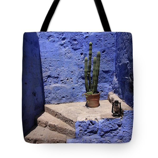 Tote Bag featuring the photograph Santa Catalina Monastery by Aidan Moran