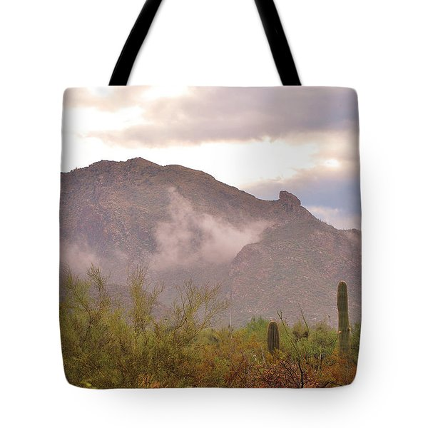 Santa Catalina Mountains II Tote Bag