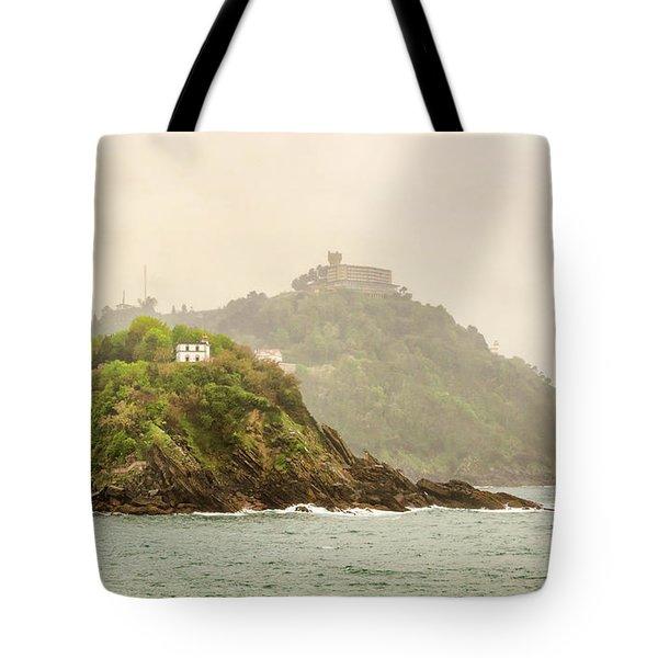 Santa Clara Island Tote Bag