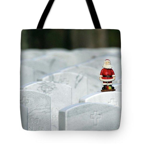 Santa Claus Calverton New York Tote Bag
