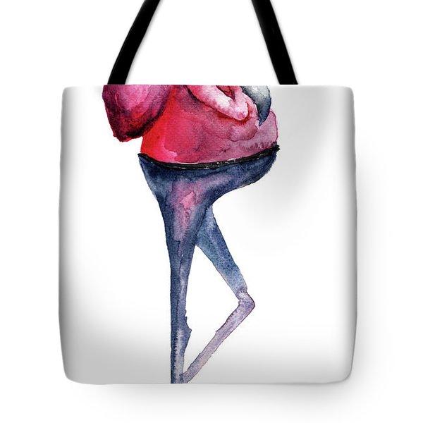 Santa Claus, Watercolor Illustration Tote Bag