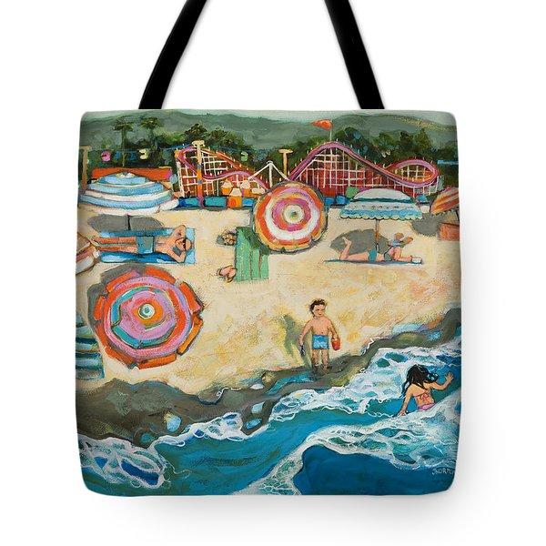 Santa Cruz Beach Boardwalk Tote Bag