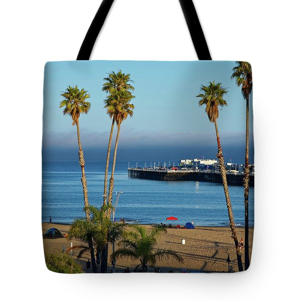 Santa Cruz Beach Tote Bag