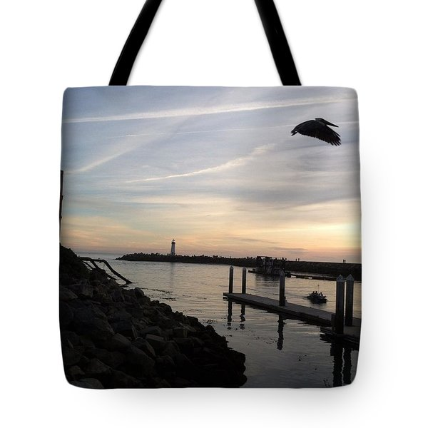 Santa Cruz Evening Tote Bag