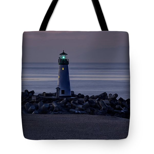 Walton Lighthouse Early Morning Tote Bag