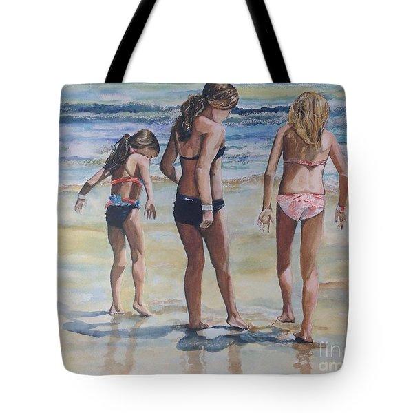 Santa Cruz Memories Tote Bag