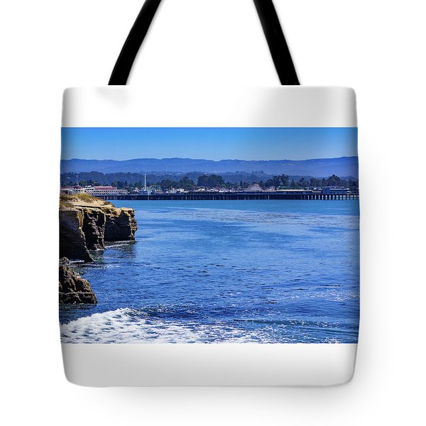 Tote Bag featuring the photograph Santa Cruz by Randy Bayne