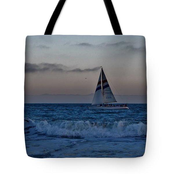Santa Cruz Sail Tote Bag