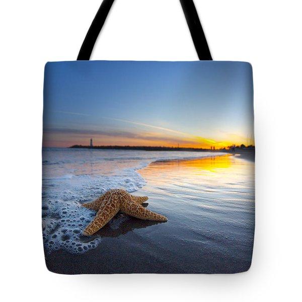 Santa Cruz Starfish Tote Bag
