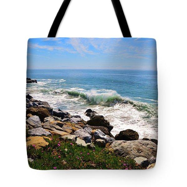 Santa Cruz Surf Tote Bag