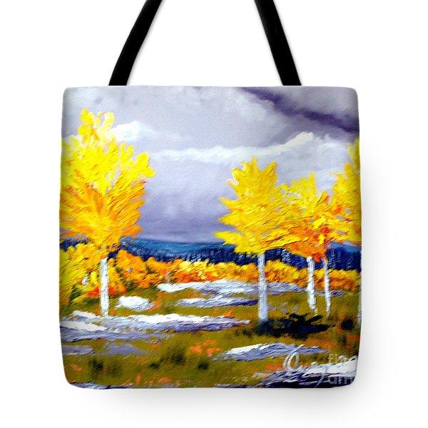 Santa Fe Aspens Series 2 Of 8 Tote Bag