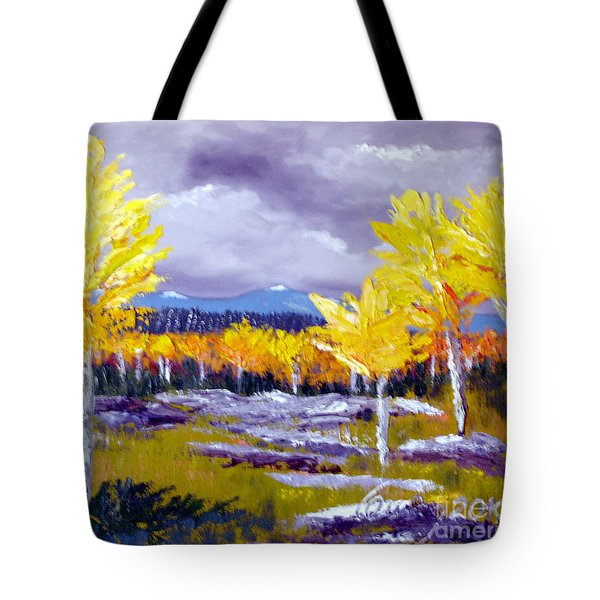 Santa Fe Aspens Series 4 Of 8 Tote Bag