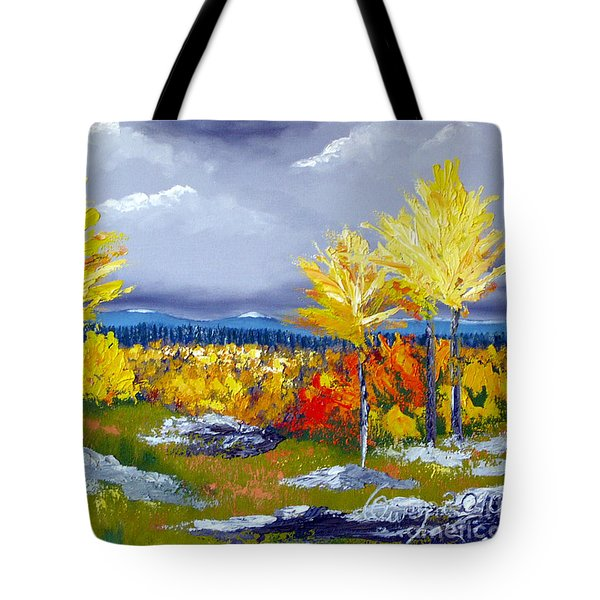 Santa Fe Aspens Series 5 Of 8 Tote Bag