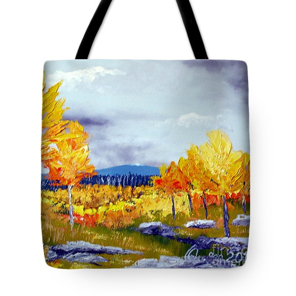 Santa Fe Aspens Series 6 Of 8 Tote Bag