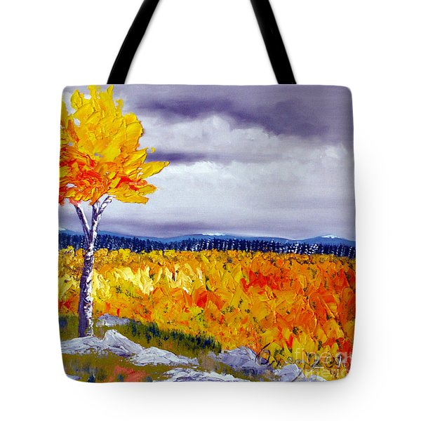 Santa Fe Aspens Series 7 Of 8 Tote Bag
