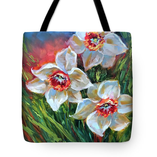 Santa Fe Daffodils Tote Bag
