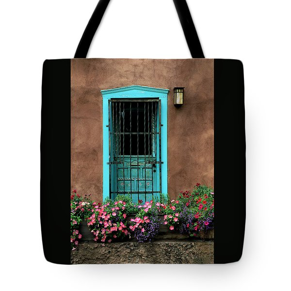 Santa Fe Door #1 Tote Bag