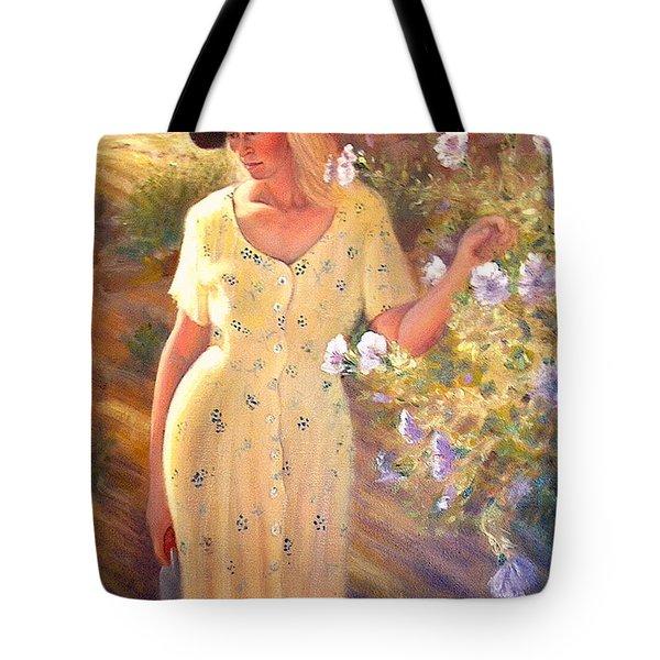 Santa Fe Garden 3   Tote Bag by Donelli  DiMaria