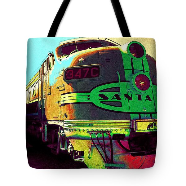 Santa Fe Railroad New Mexico Tote Bag