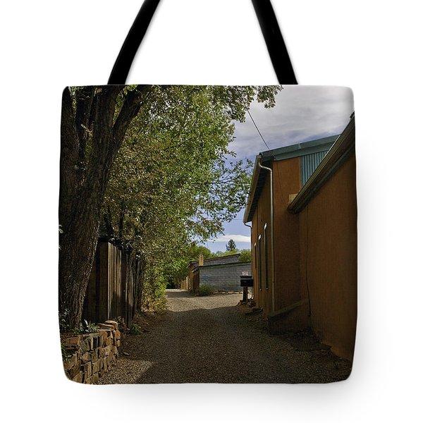 Santa Fe Road Tote Bag by Madeline Ellis