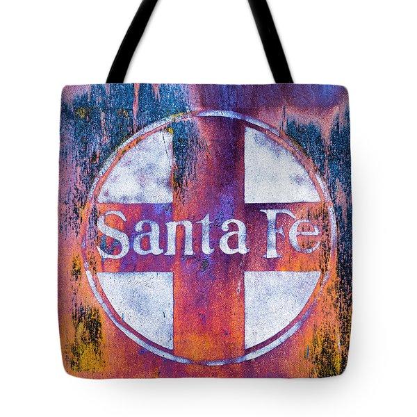 Santa Fe Rr Tote Bag