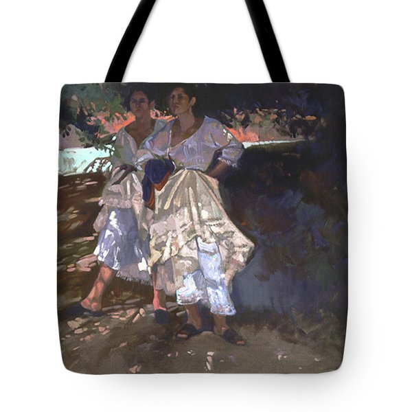 Santa Fe Shade Tote Bag