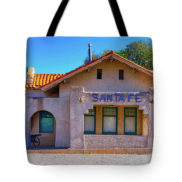 Santa Fe Station Tote Bag by Stephen Anderson