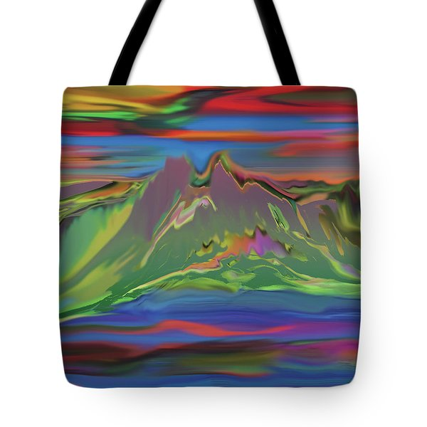 Santa Fe Sunset Tote Bag