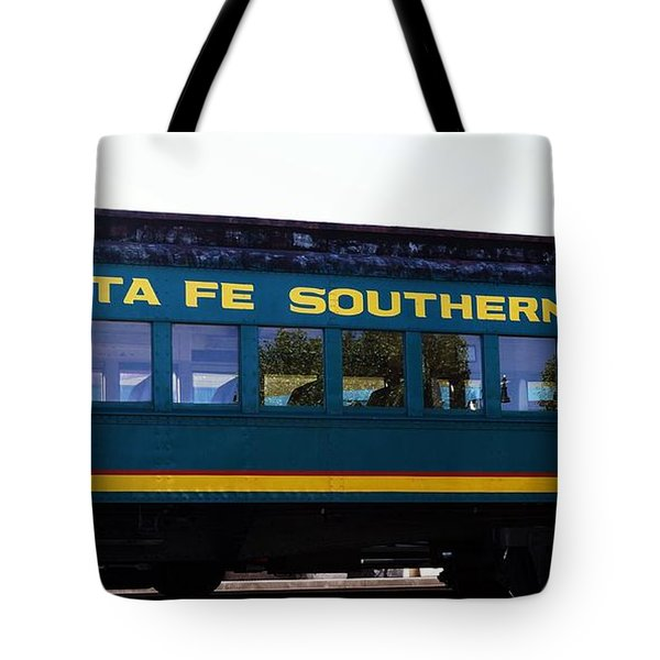 Santa Fe Train Tote Bag