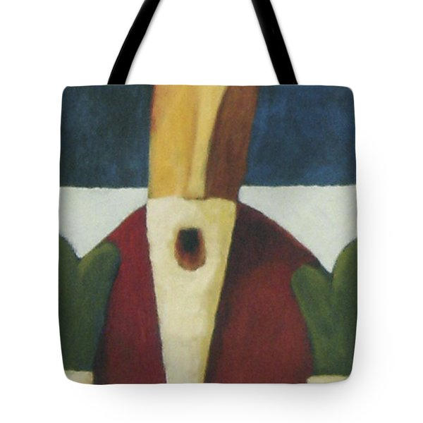 Tote Bag featuring the painting Santa by Glenn Quist