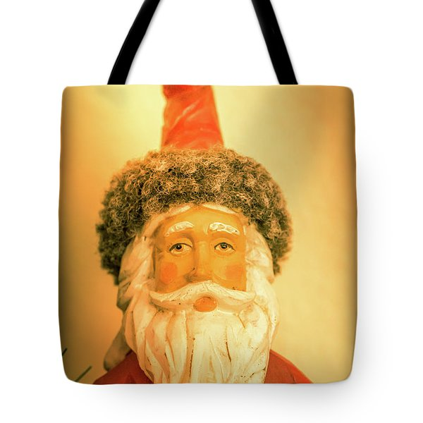 Santa Is Watching Tote Bag