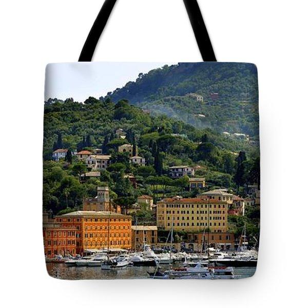 Tote Bag featuring the photograph Santa Margherita Ligure by Corinne Rhode