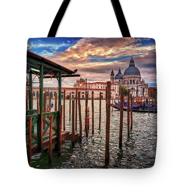 Santa Maria Della Salute Tote Bag
