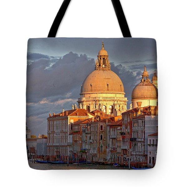 Santa Maria Della Salute Tote Bag by Heiko Koehrer-Wagner