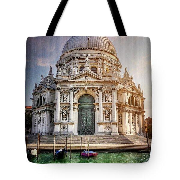 Santa Maria Della Salute - Venice  Tote Bag