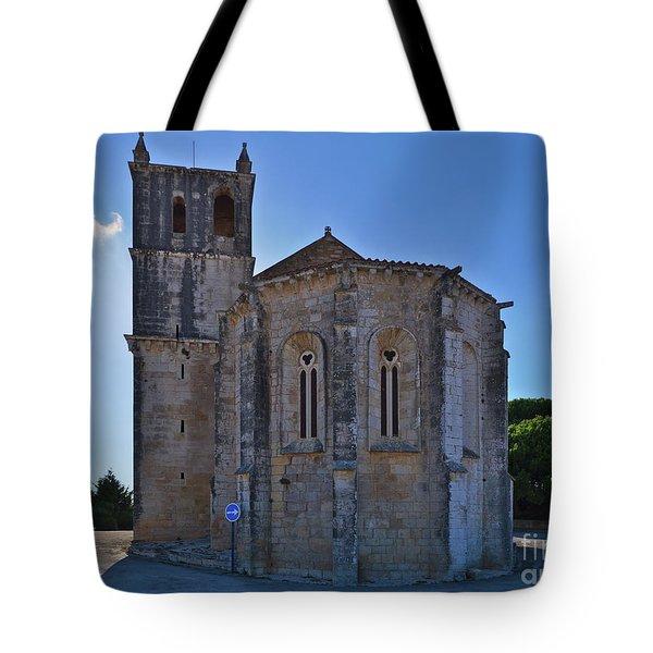 Santa Maria Do Carmo Church In Lourinha. Portugal Tote Bag