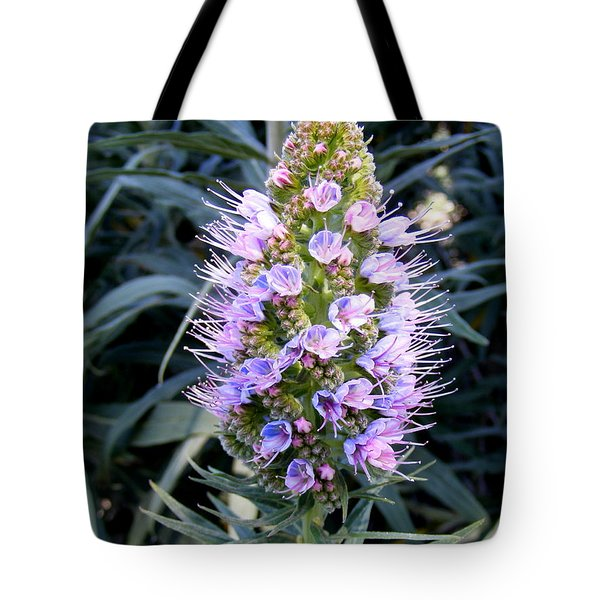 Santa Monica In Bloom Tote Bag