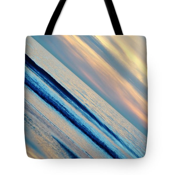 Tote Bag featuring the photograph Santa Monica Sunset by Kyle Hanson