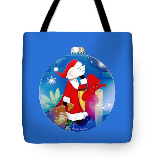 Santa Mouse Child's Shirt Tote Bag