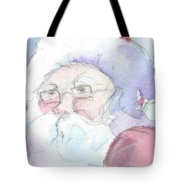 Santa  Tote Bag by Robert Yonke