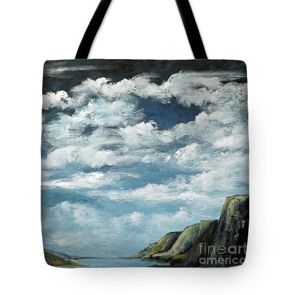 Santa Rosa Lake 4 Tote Bag