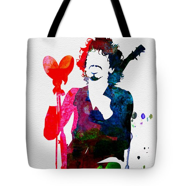 Santana Watercolor Tote Bag