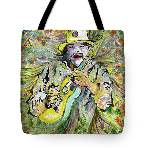 Santana's Sacred Fire Tote Bag