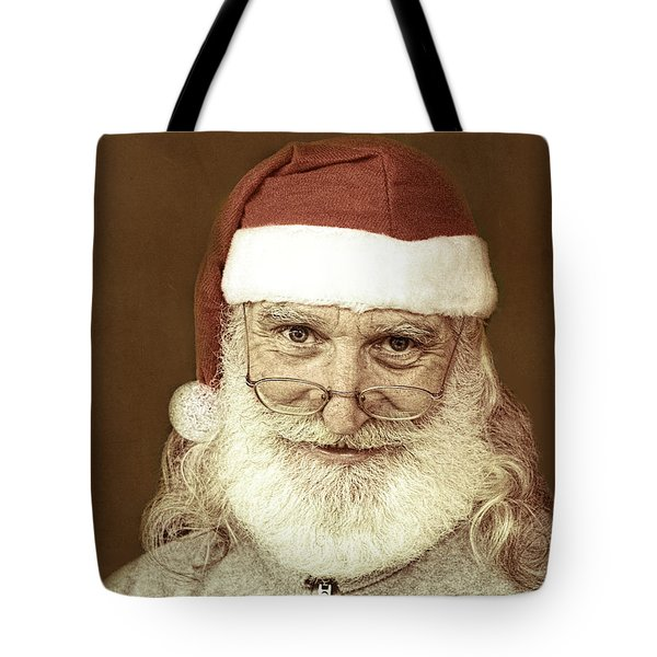 Santa's Day Off Tote Bag