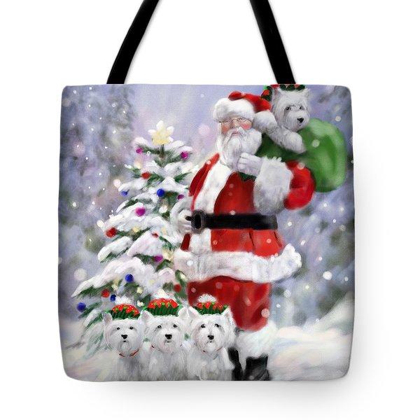 Santa's Helpers Tote Bag