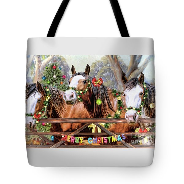 Santa's Helpers Tote Bag