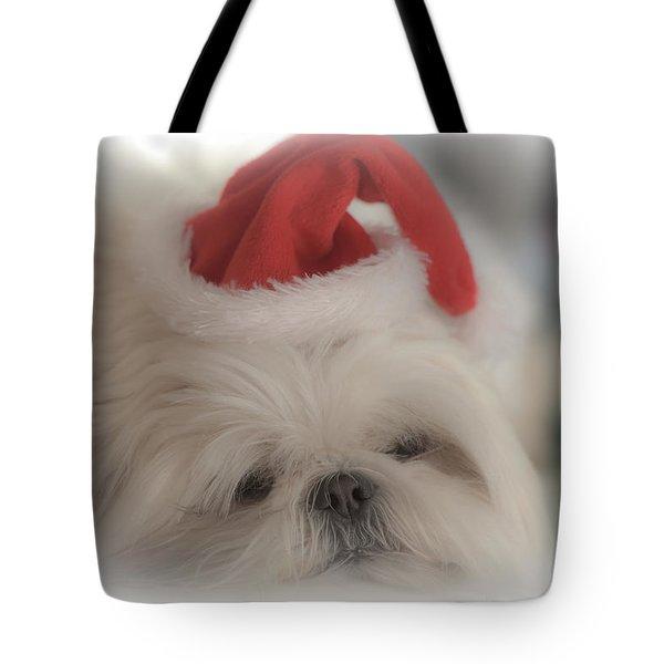 Santa's Sweetie Tote Bag