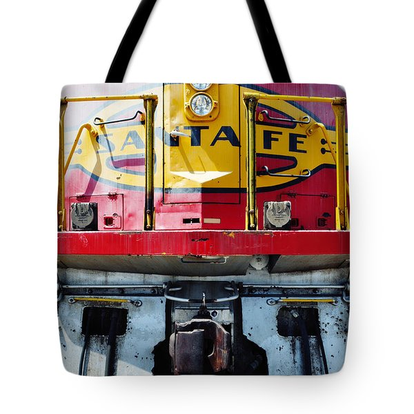 Tote Bag featuring the photograph Sante Fe Railway by Kyle Hanson